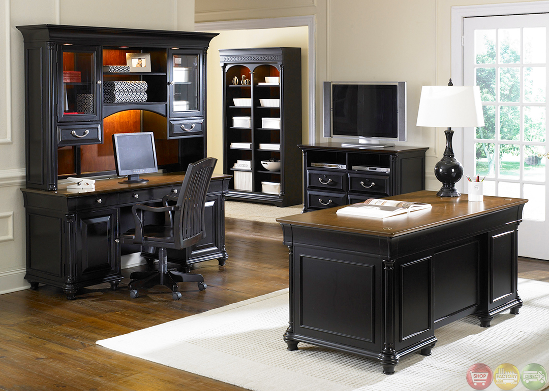 St ives traditional executive home office furniture desk set - Office furnitur ...