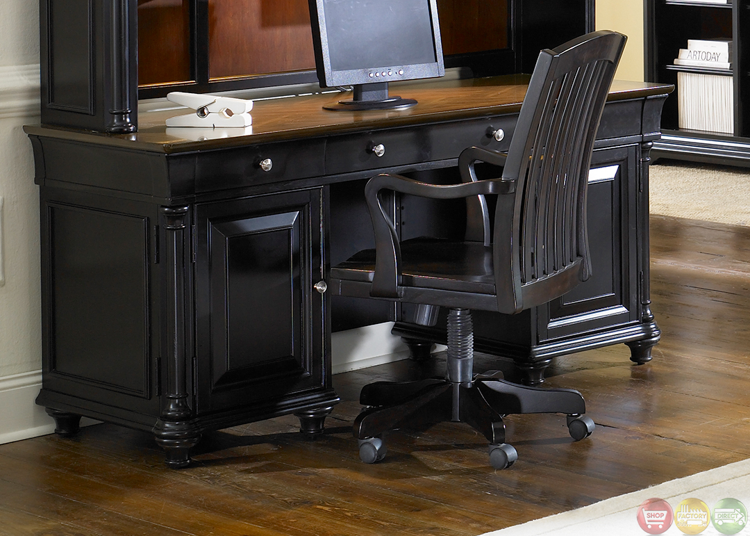 Home Office Desk: St Ives Traditional Executive Home Office Furniture Desk Set