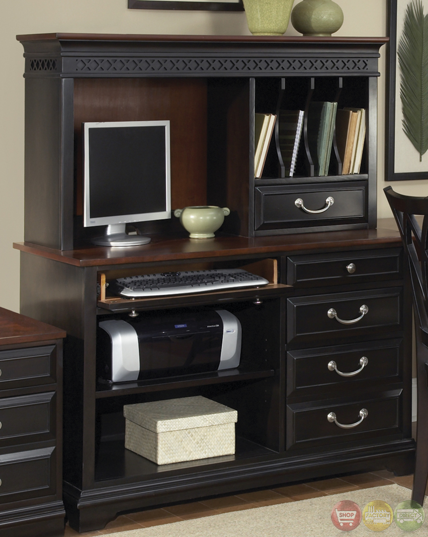 St ives traditional l shaped home office furniture set - Home office furniture set ...