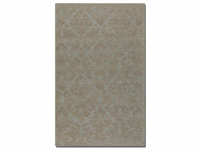 St. Petersburg Light Blue Hand Tufted Wool Rug 73032