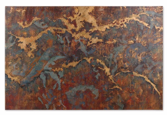 Stormy Night Wall Hand Painted Art 32182