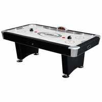 Carmelli Stratosphere 7.5-Ft Air Hockey Table w/Docking Station & Leg Speakers