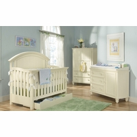 Summer Breeze Cottage Grow With Me Convertible Crib