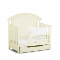 Summer Breeze Cottage Toddler Daybed and Guard Rail