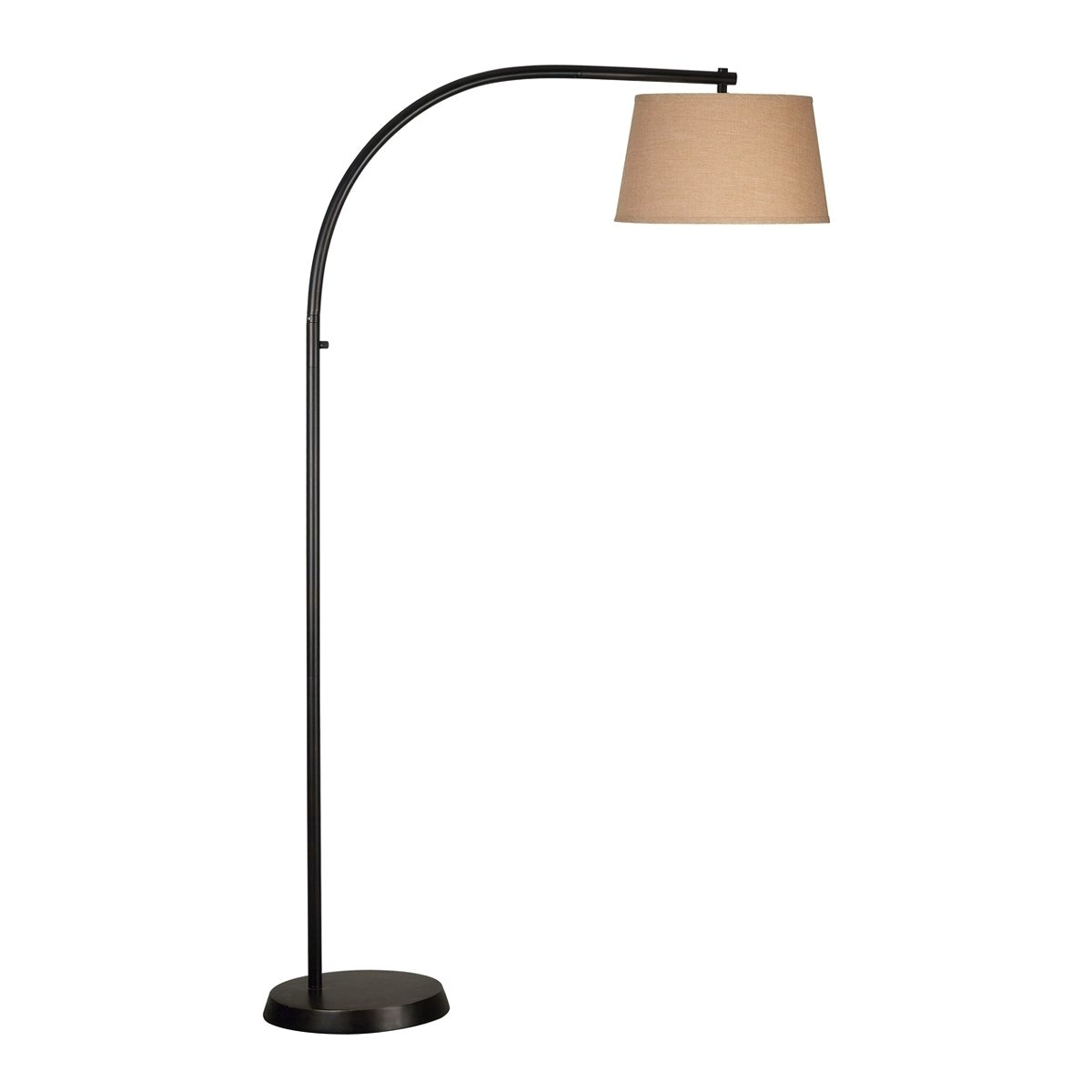 sweep oil rubbed bronze finish streamlined floor lamp