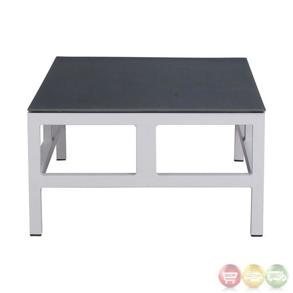 Swordfish White Coffee Table Zuo Modern 701874 Modern Outdoor Furniture Free Shipping