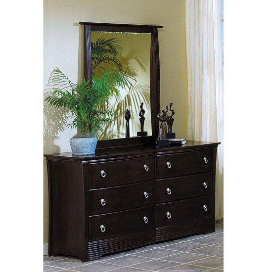 Syracuse Contemporary Style Low Profile Bedroom Furniture Set Free Shipping