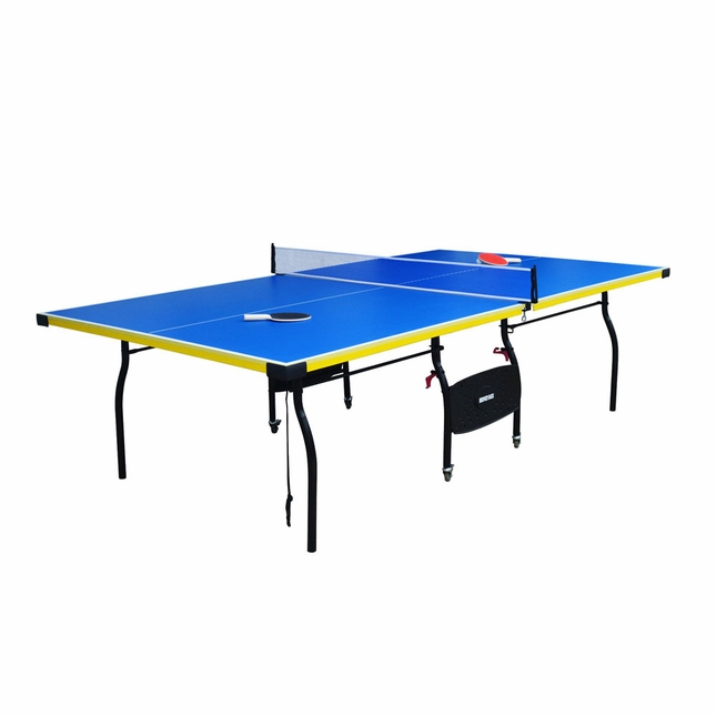 Table Tennis Bounce Back 9 Ft Ping Pong table w/ Accessories NG2325B