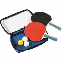 Table Tennis Dual Control Spin Racket and Ball Set