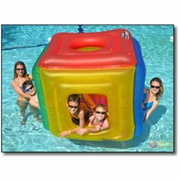 The Cube Deluxe Floating Pool Habitat - NT250