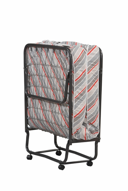 Torino Folding & Rolling Cot Guest Bed and Mattress Set