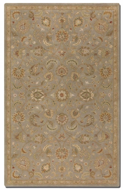 Torrente Light Gray Hand Tufted Wool Rug 73024