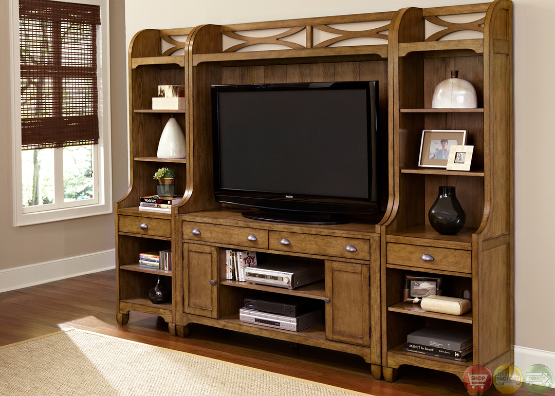 Town and country cottage style entertainment center Entertainment center furniture