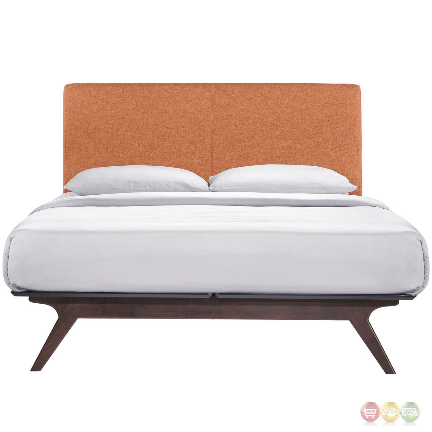 Tracy Contemporary Upholstered Platform Full Bed