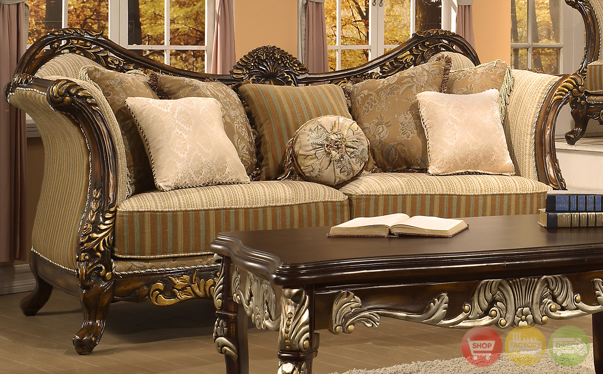 Victorian inspired formal living room sets - Antique living room furniture sets ...