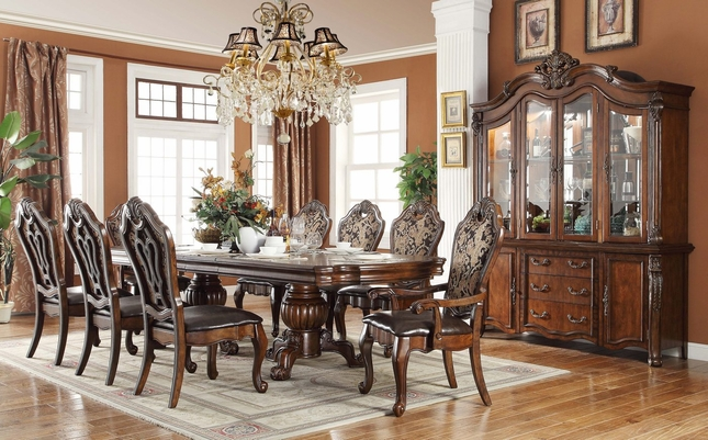 Traditional Style Formal Dining Room Furniture Set