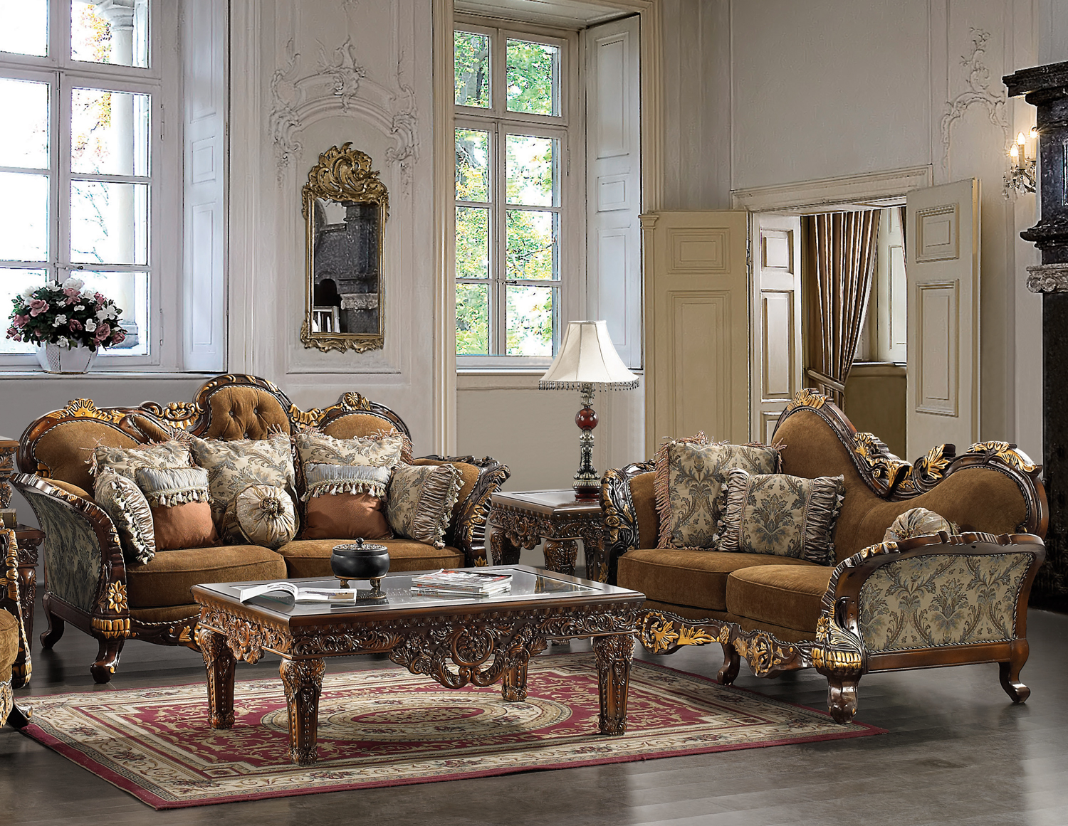 outstanding traditional formal living rooms   Traditional Formal Living Room Furniture Collection HD-260