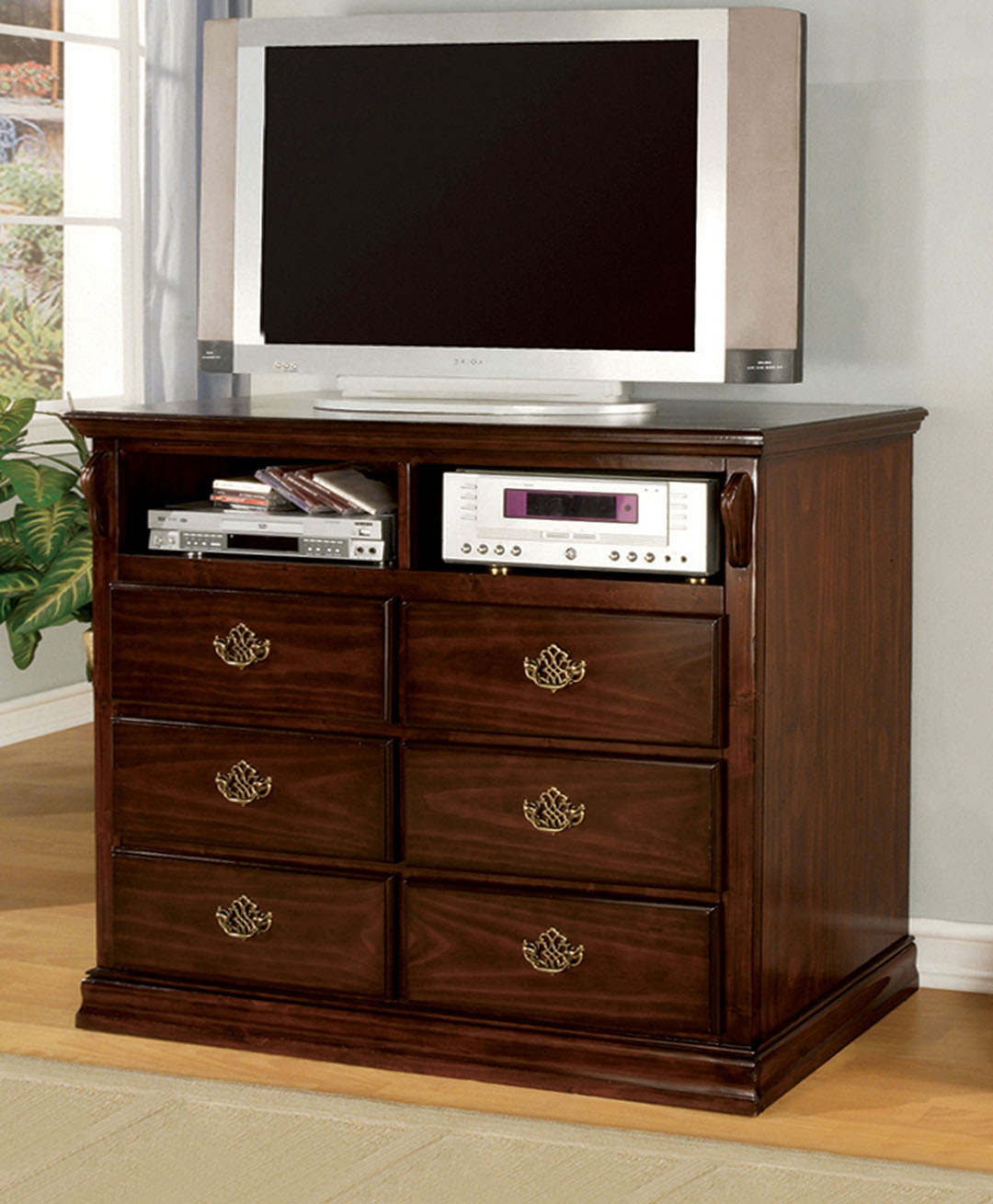 Tuscan Bedroom Furniture: Tuscan II Classic Traditional Poster Bed Dark Pine Bedroom