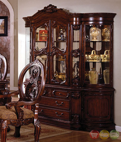 Traditional Formal Dining Room Sets: Tuscany Traditional Antique Cherry Formal Dining Room