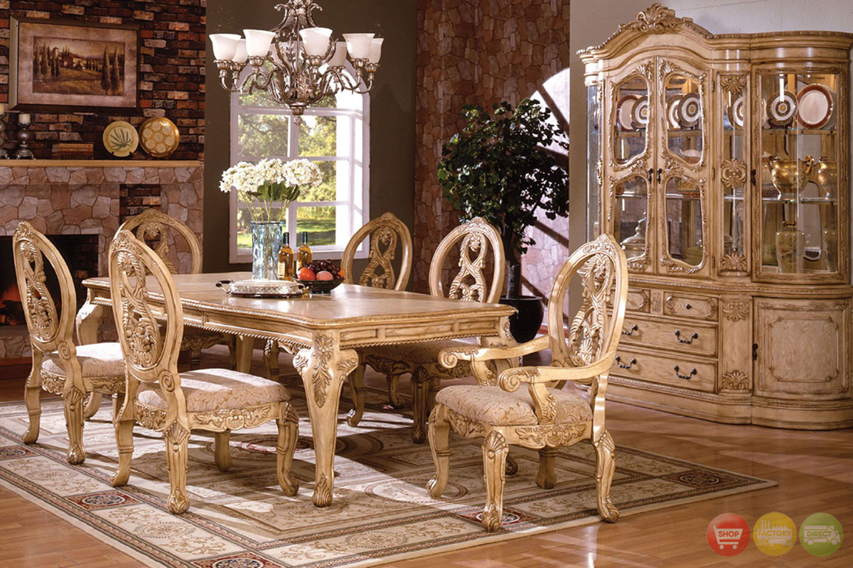 Dining room chairs canada home twink for Elegant dining room furniture