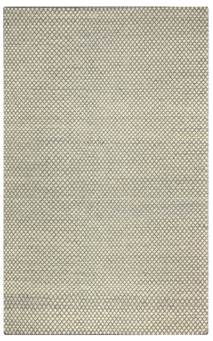 Twist Textured Woven Pattern Wool Area Rug In Tan Amp Gray