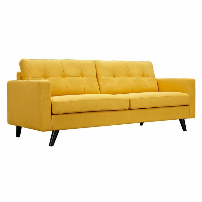 Groovy Modern Yellow Sofa Mustard Sofa Shop Factory Direct Ncnpc Chair Design For Home Ncnpcorg