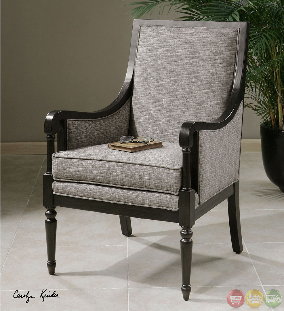 Baldomera Wood Frame Upholstered Accent Chair 23183