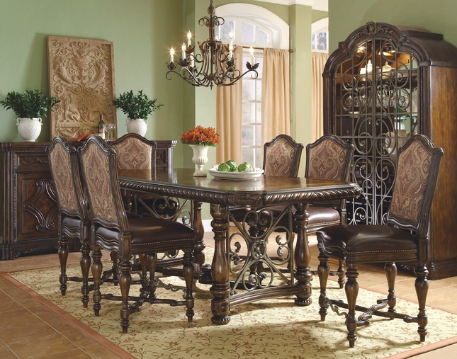 Valencia Antique Style Counter Height Dining Set