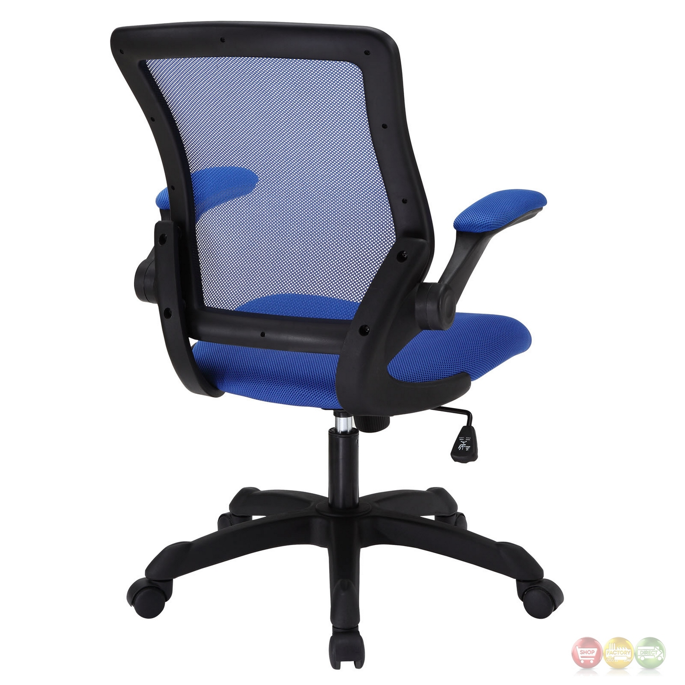 Veer contemporary ergonomic mesh multi function office for Blue office chair