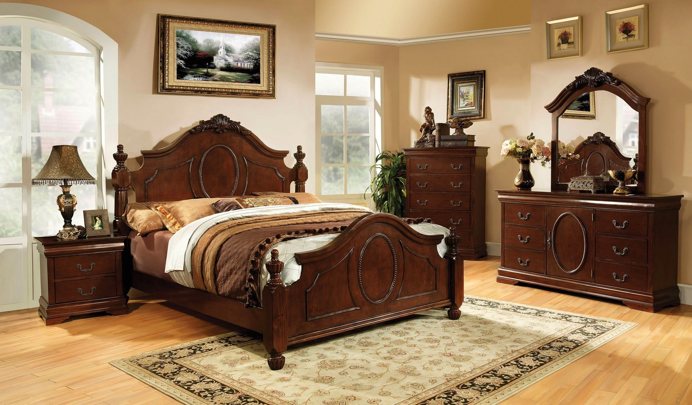 Image Is Loading Clarissa Ii Traditional Baroque Style 4 Pc Queen