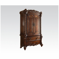 Vendome 2-Drawer TV Armoire In Ornate Traditional Cherry Finish