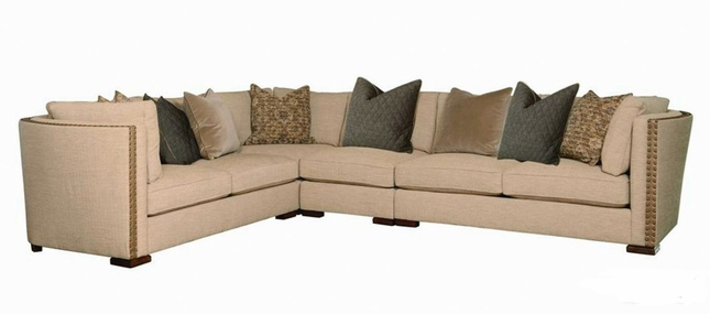 Ventura Madison Bourbon Sectional Sofa Living Room Furniture Set A.R.T.