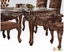"""Versailles Traditional Scrolled 71"""" Dining Table In Cherry Oak"""