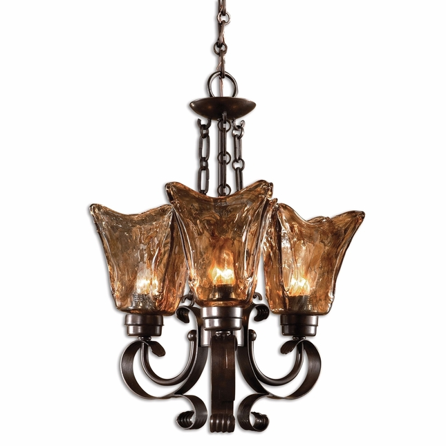 Vetraio Traditional 3 Light Chandelier 21008