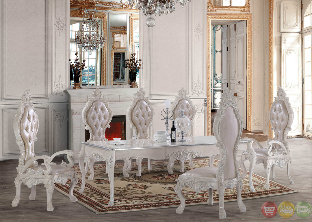 free shipping all homey design dining sets victorian. Black Bedroom Furniture Sets. Home Design Ideas