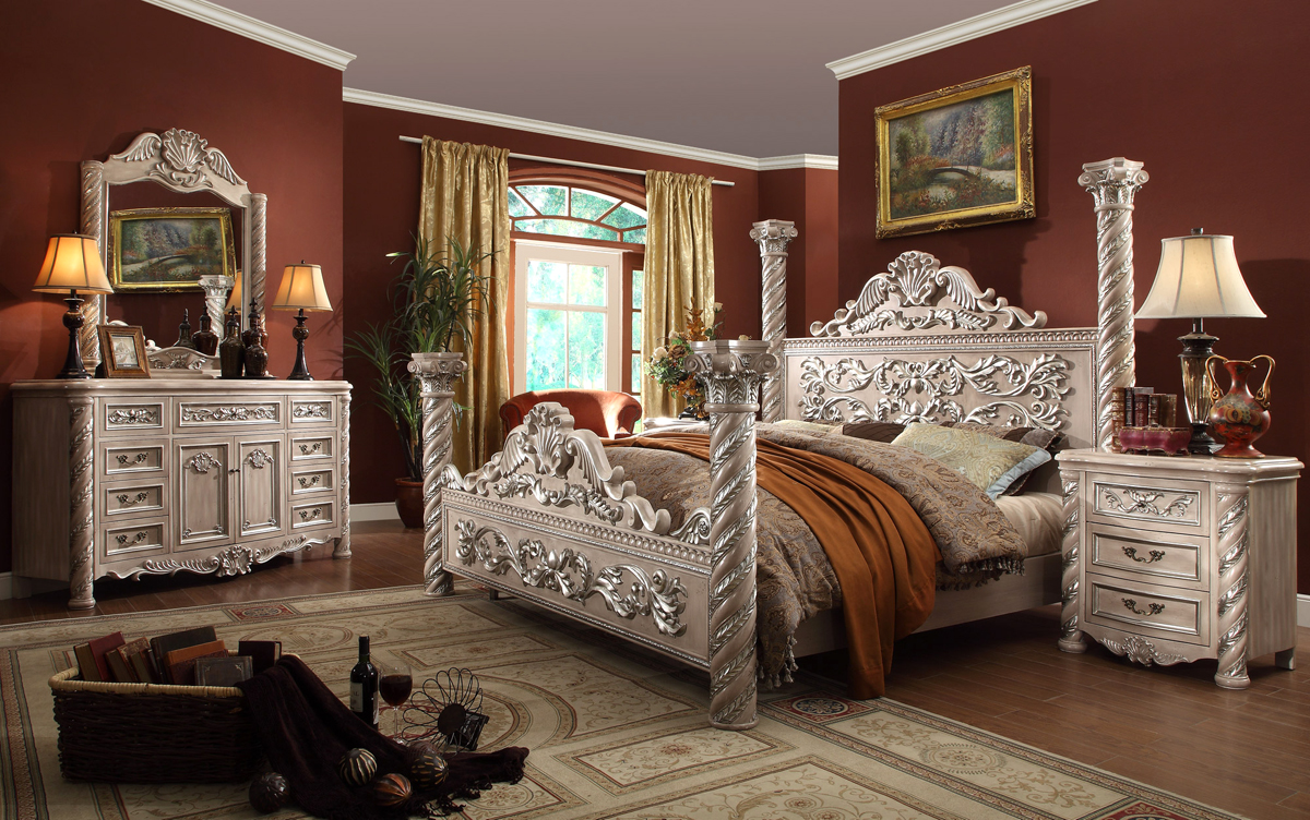 Bedroom - White vintage bedroom furniture sets ...