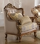 Vilagio Victorian Syle Formal Living Room Set Sofa Loveseat Optional Chair