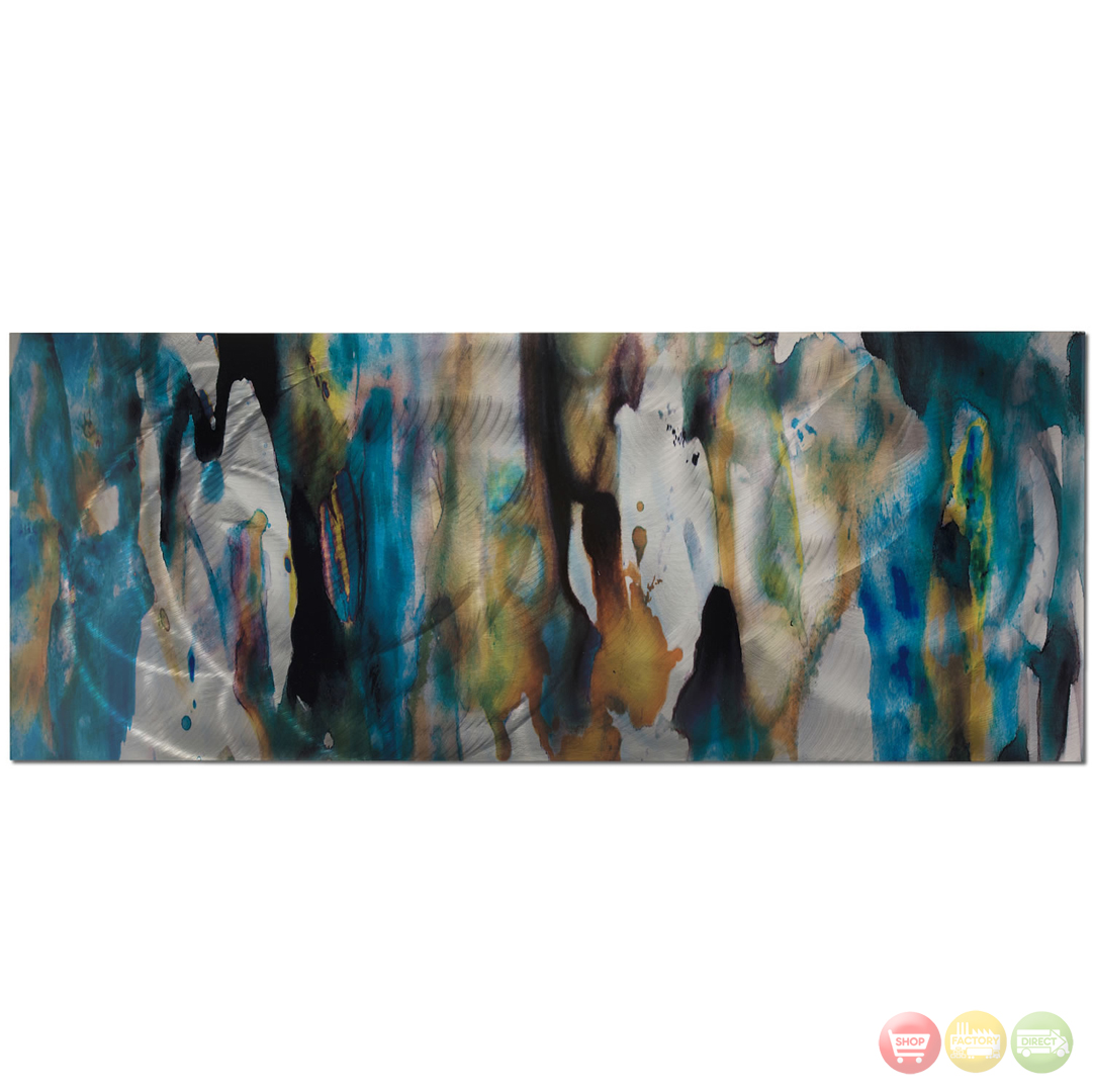 Watercolor composition colorful abstract art l0209 Colorful wall decor