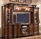 "Westchester Traditional 62"" Tv Entertainment Center In Rich Wood Finish"