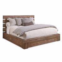 Williamsburg Queen Storage Bed With Brown Reclaimed Finish