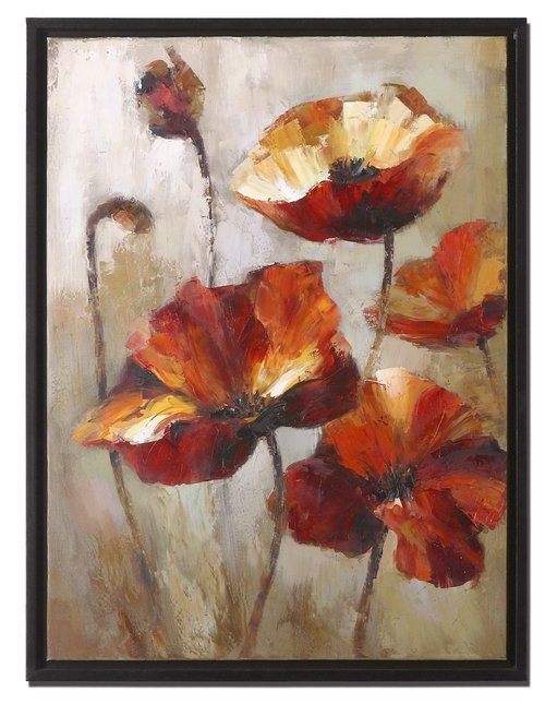 Window View Box Style Frame Floral Art 34223