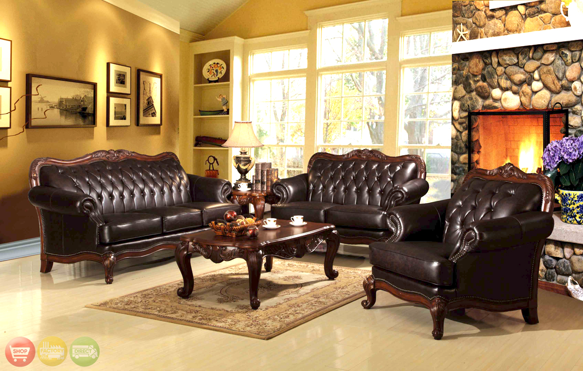 Queen anne living room set - Queen anne style living room furniture ...