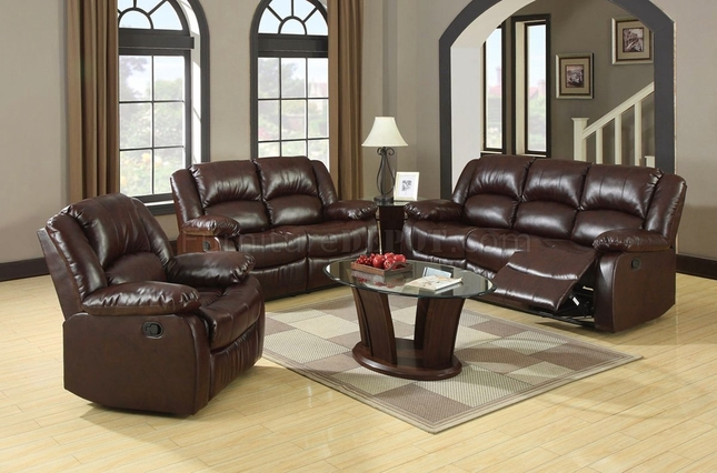 Winslow Traditional Rustic Brown Living Room Set with Plush Cushions