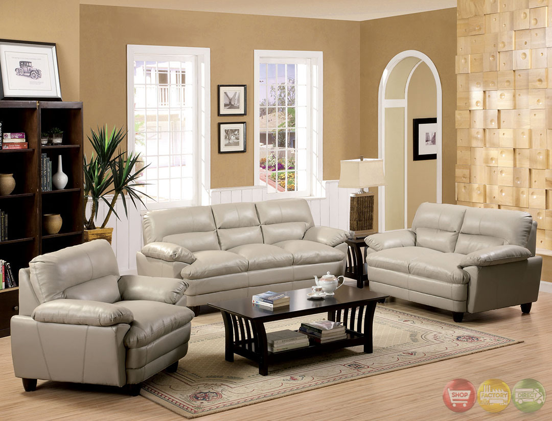 Winston traditional light taupe living room set with plush for Classic taupe living room