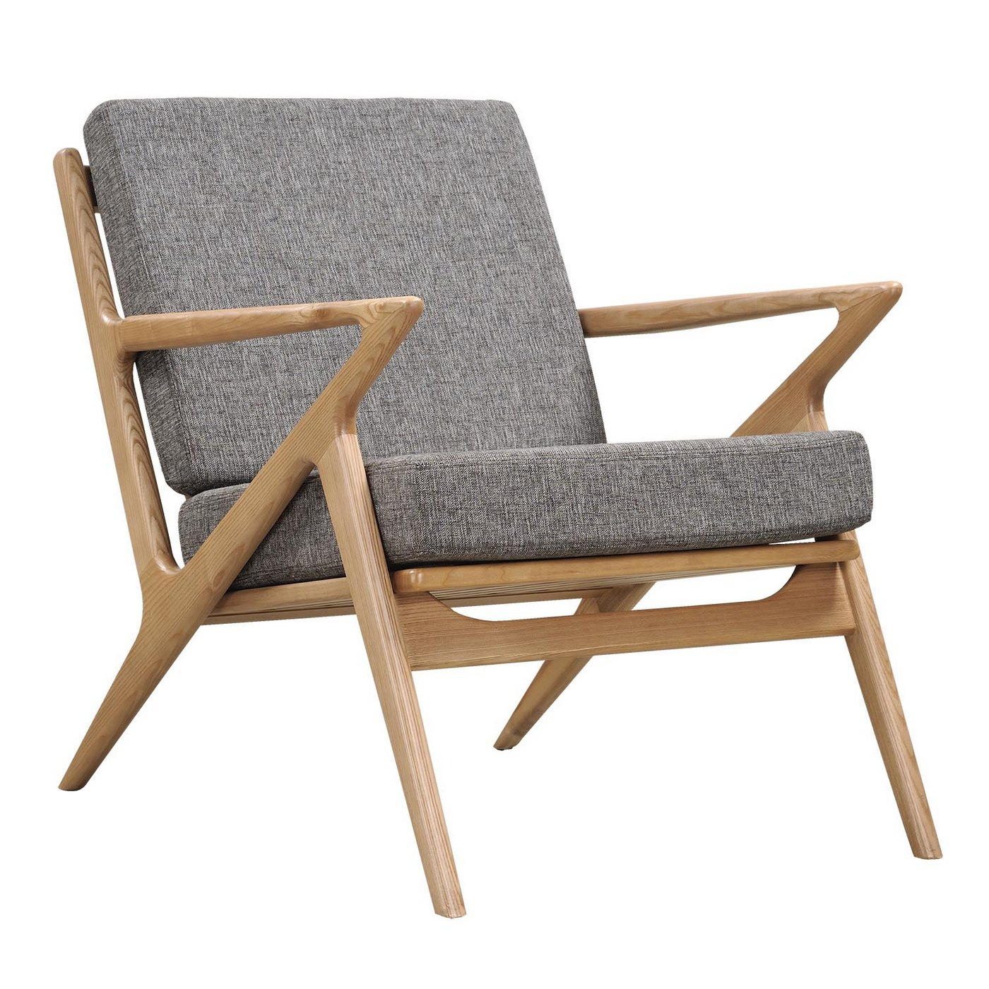 Mid-Century Modern Wood Chair