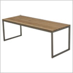 MOBY <br> 4ft. Backless Bench