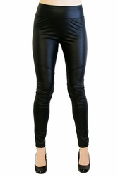Black Faux Leather Leggings (OUT OF STOCK)