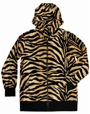 Men's Brown Zebra Hoodie (OUT OF STOCK)