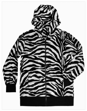 Men's Zebra Hoodie (OUT OF STOCK)