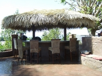 12' x 14' 2 Pole Oval Palapa Kit